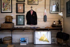 A hipster shop.